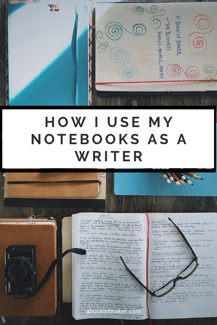 How I use my notebooks as a writer & creative