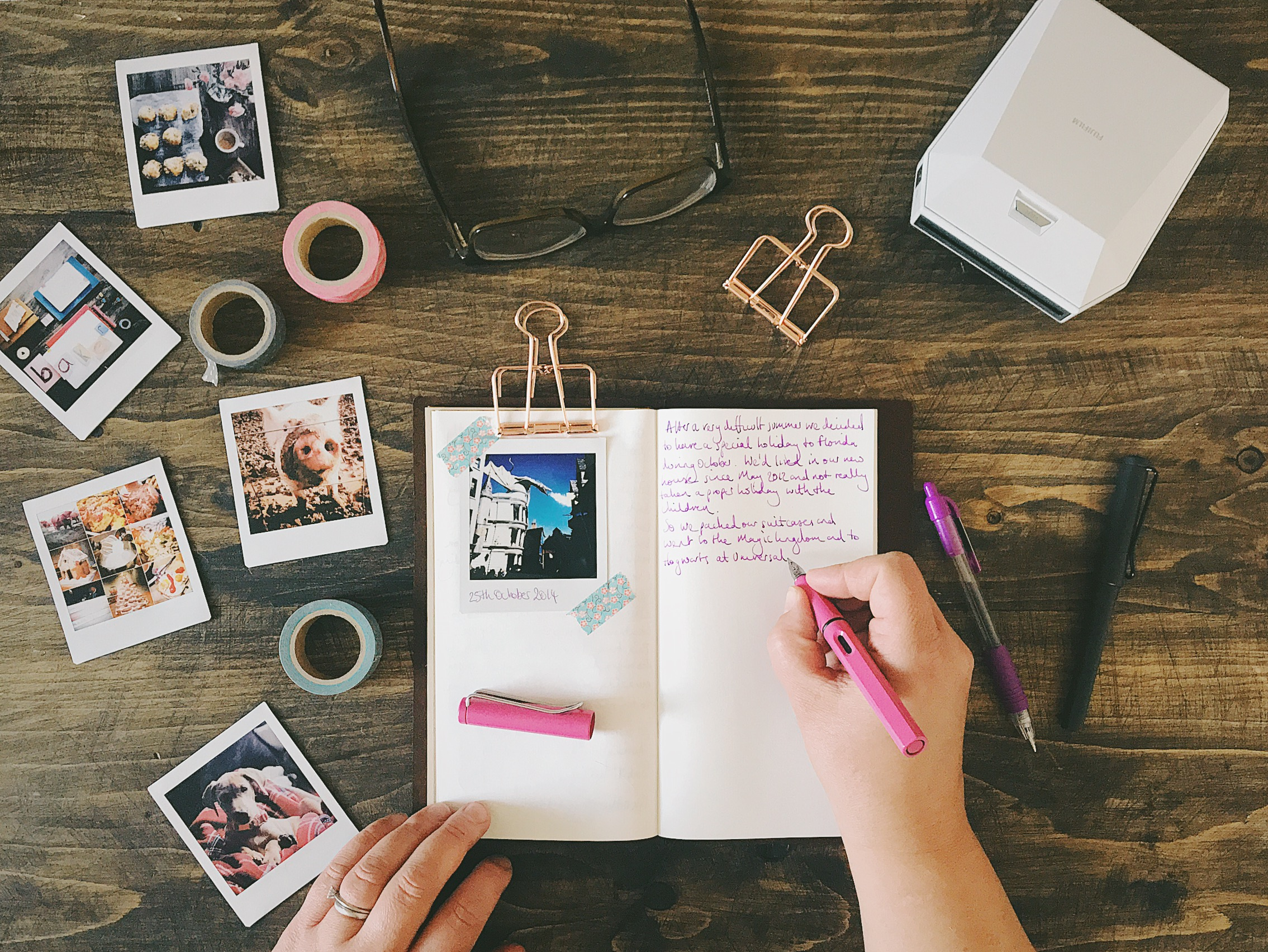 journaling my Instagram photos