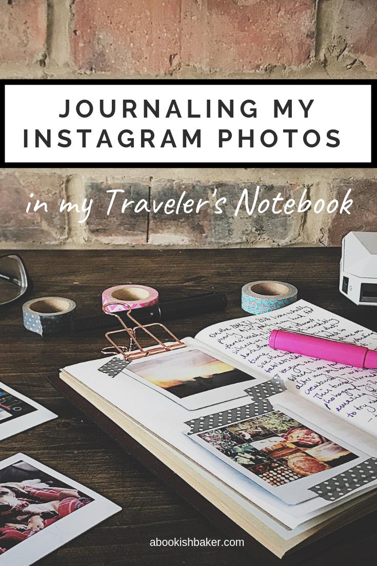 journaling my instagram photographs