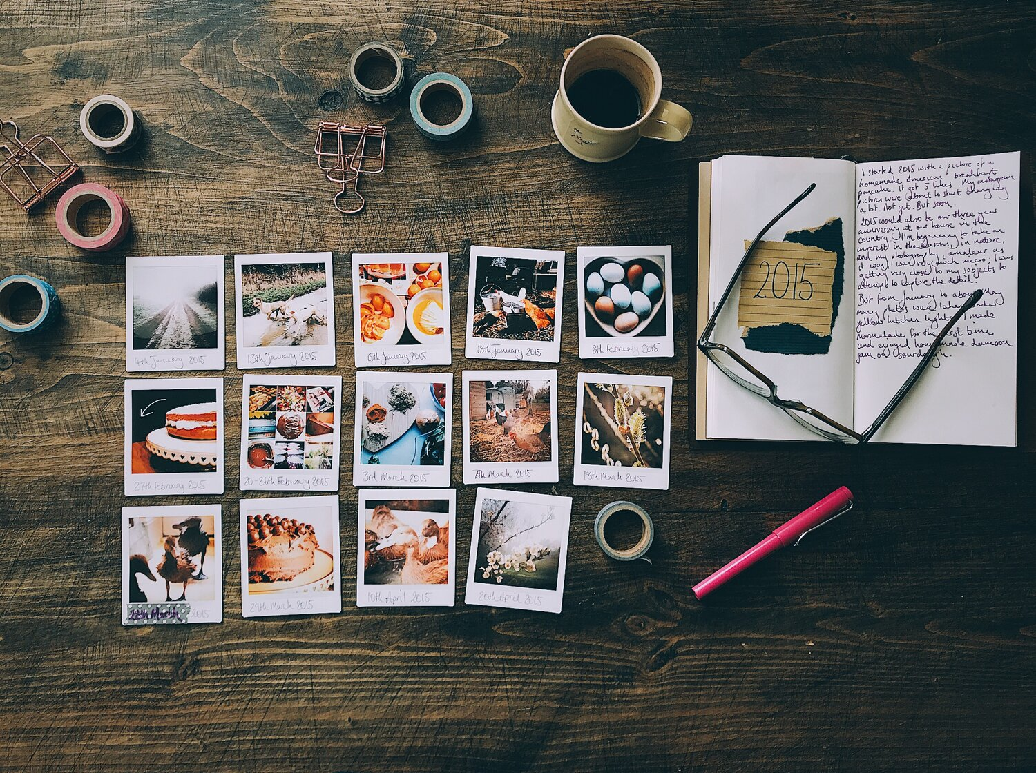 How I'm creating a journal of my Instagram photographs