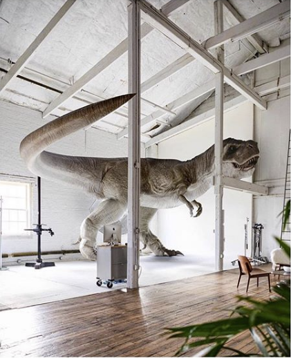 *T-Rex for scale     **Photo and dino cred: Dan Ferraro
