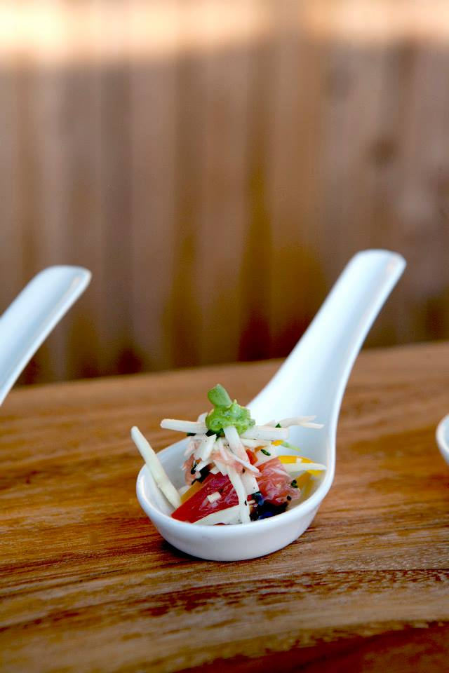 Spicy Poke Spoons
