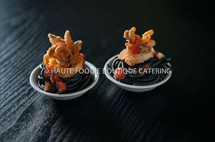 quid Ink Basta + Fried Calamari
