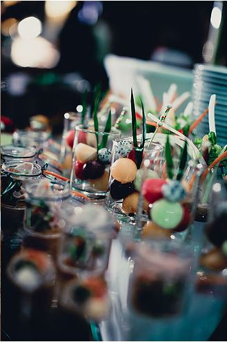 Buffet Fruit Display