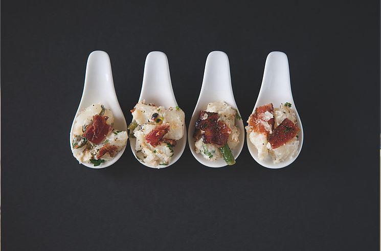 Gorgonzola + Bacon Potatoes