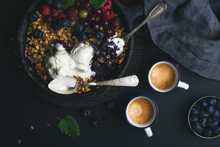 Greek Yogurt + Berries
