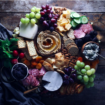Cheese + Nut Board