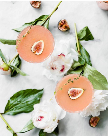 Fig + Thyme Cocktails