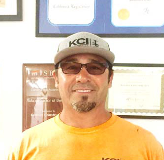 NACHO ORTIZ  PROJECT FOREMAN  Nacho has been with Kenney Construction, Inc. for 17 years. With a total of 32 years in the construction industry he prides himself on his strong skill set and knowledge in foundations.