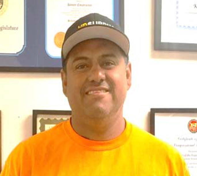 SAUL HUIZAR  PROJECT FOREMAN  Saul has been with Kenney Construction, Inc. for the last 12 years. With 18 years in the construction industry, he prides himself on coordination of projects.