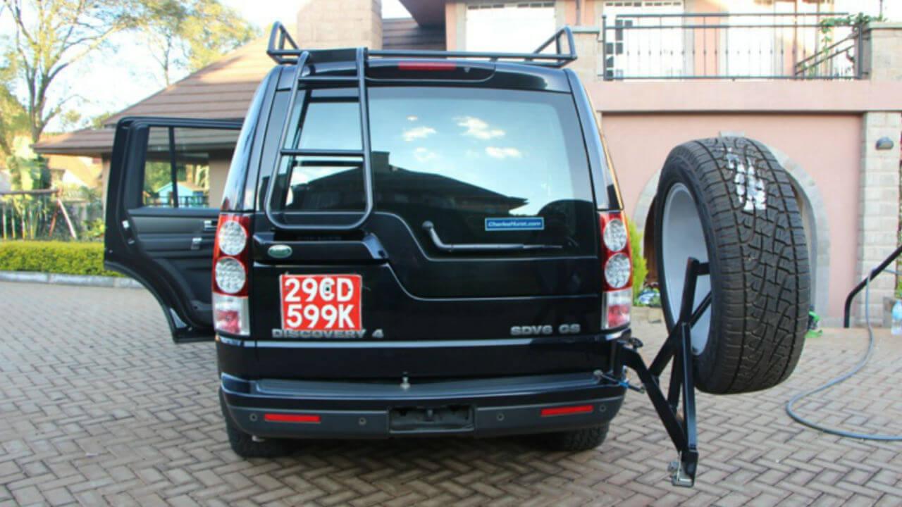 Land-Rover-LR4-rear-tire-carrier-access-ladder-standard-voyager-roof-rack-back-off-road-Voyager-Offroad.jpg