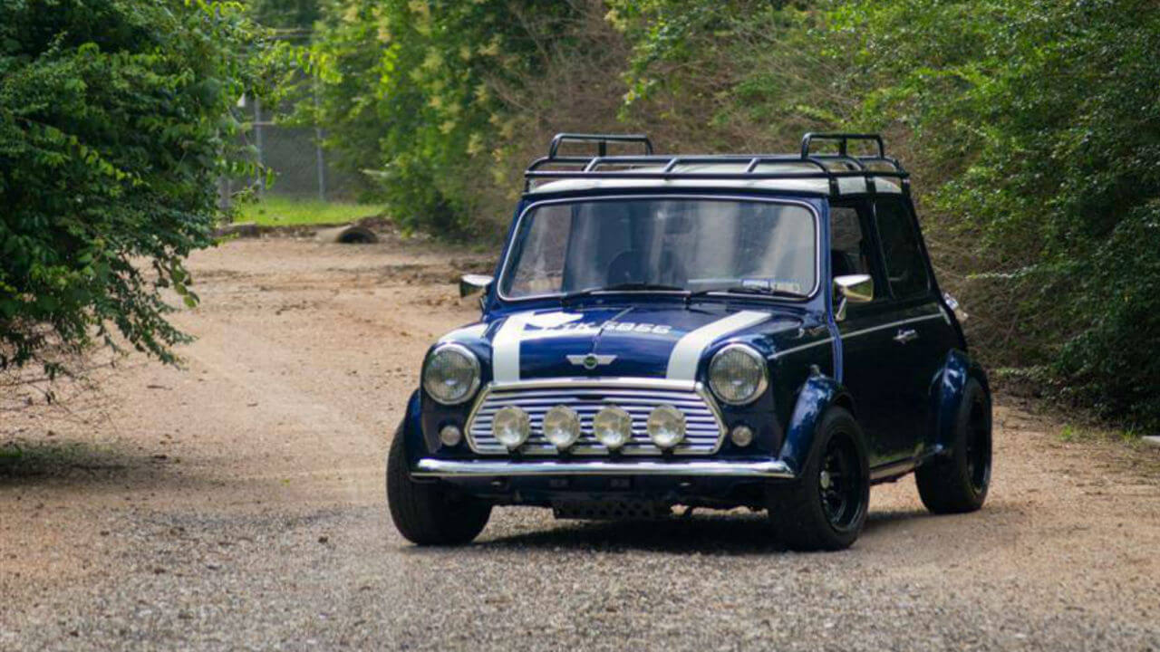 Classic-Mini-Cooper-Roof Rack-Voyager-Offroad