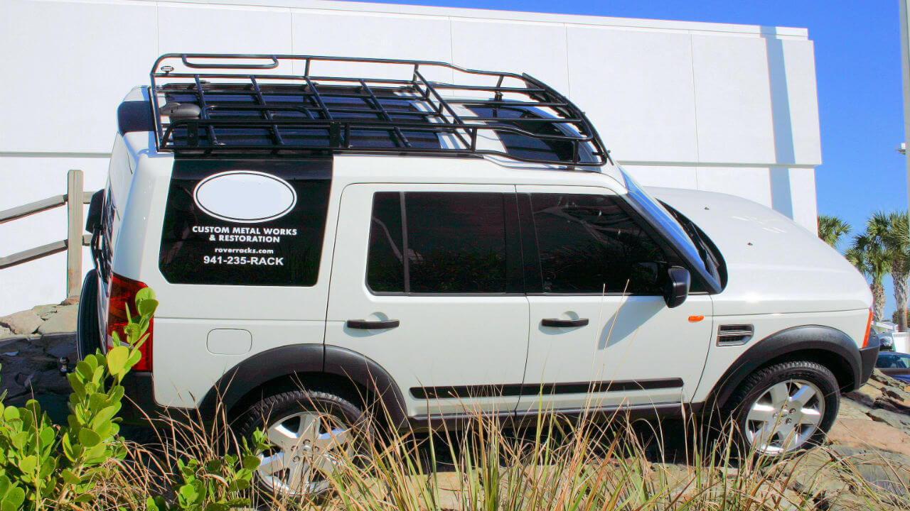Land Rover Lr3 Roof Racks Voyager Racks