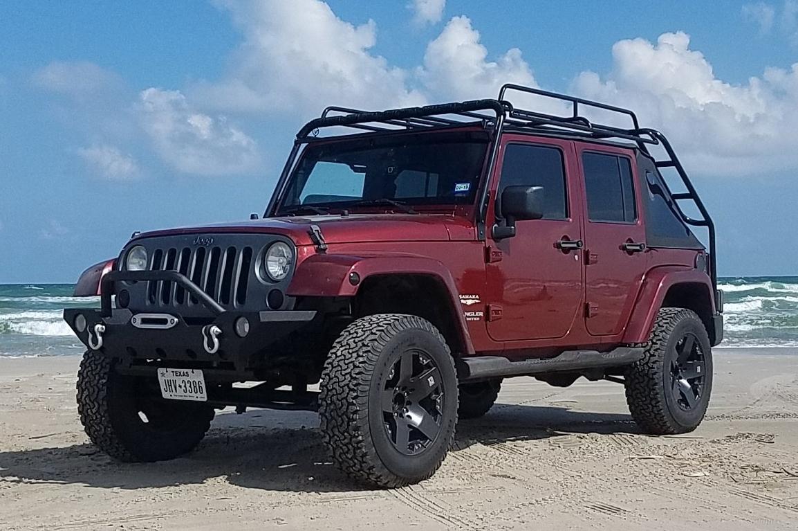 Jeep Jku Standard Roof Rack Voyager Racks