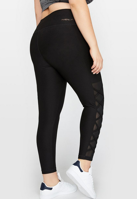 Nola Laced-Up Ankle Legging