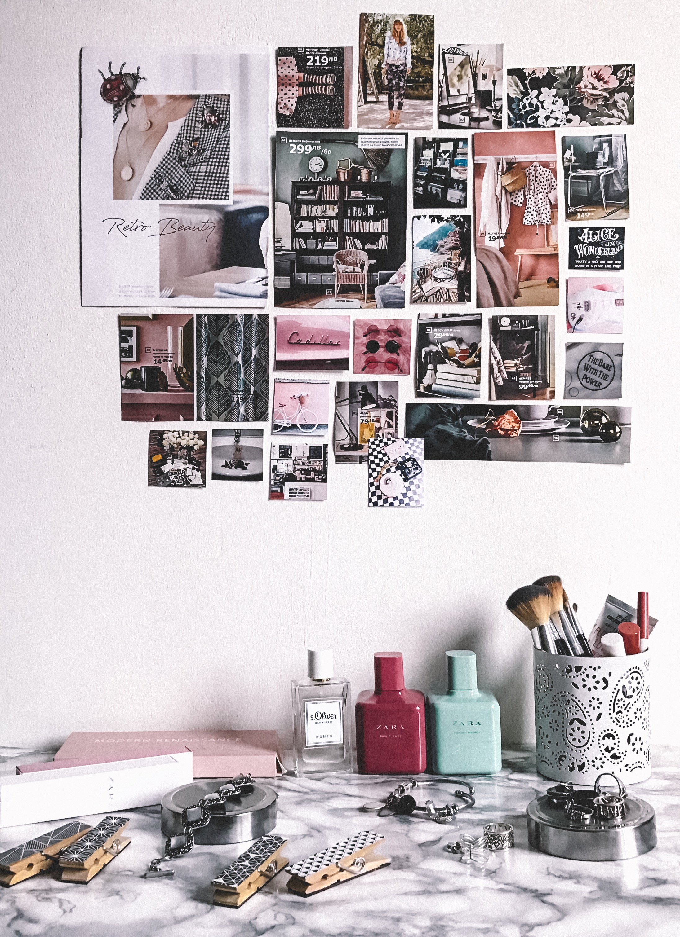 wall-art-workspace-collage-scrapbook-arockchicklife