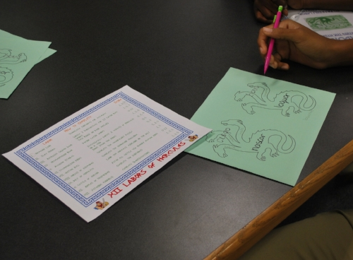 Latin Classroom Transformation Mount Olympus 3