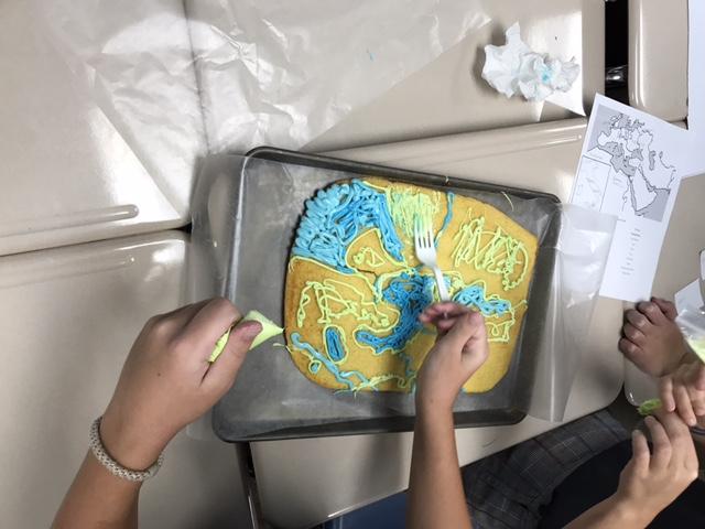 Mediterranean Map Cakes