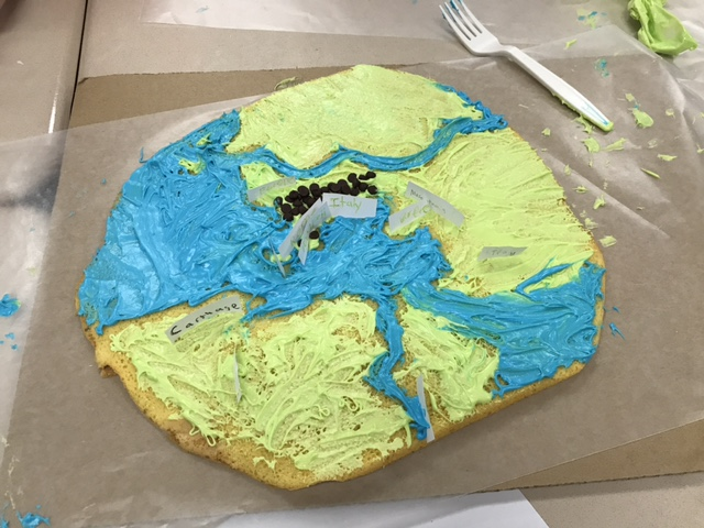 Map Cakes in the Latin Classroom