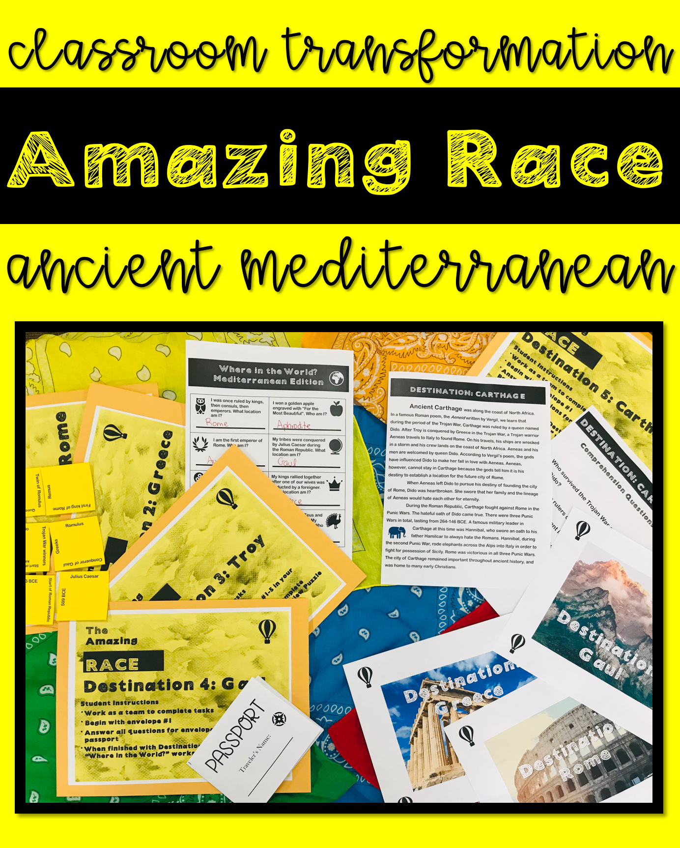 amazing-race-challenges