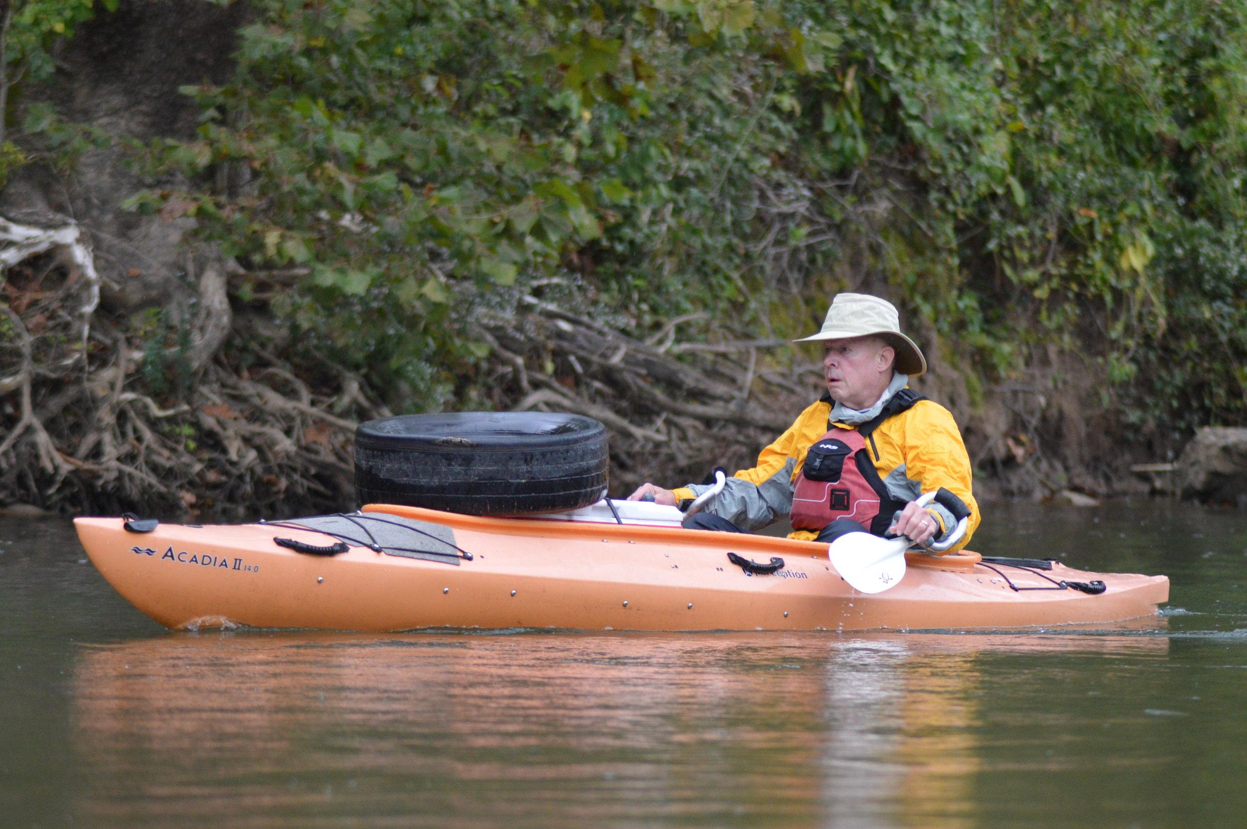 JRBP/Ozarks Water Watch Member Ray Jones.