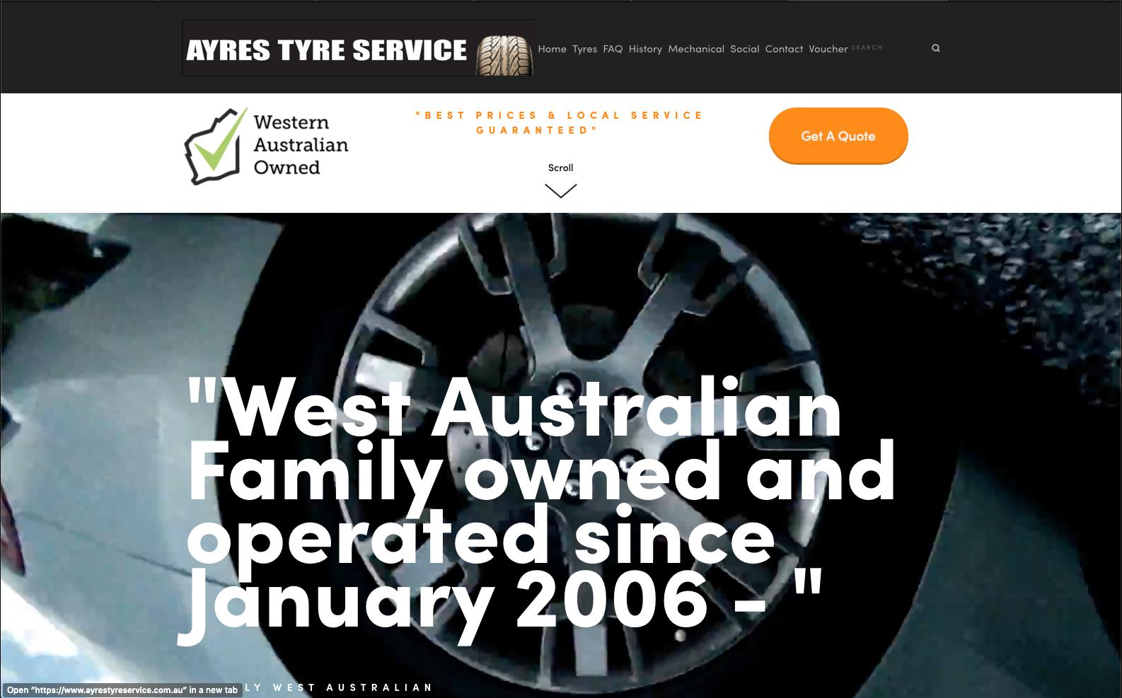Ayrestyreservice.com.au