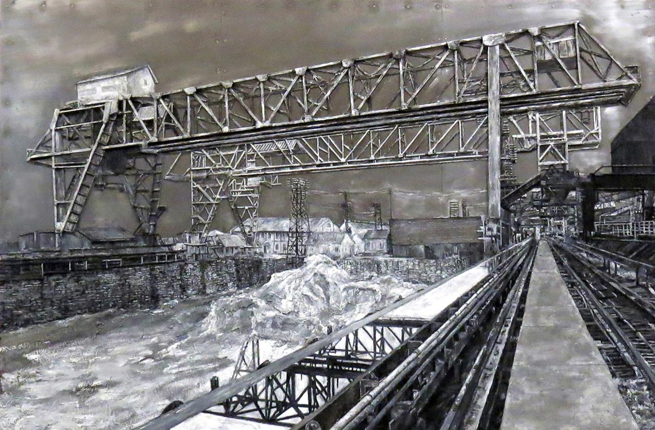 Ore Yard Pennsylvania