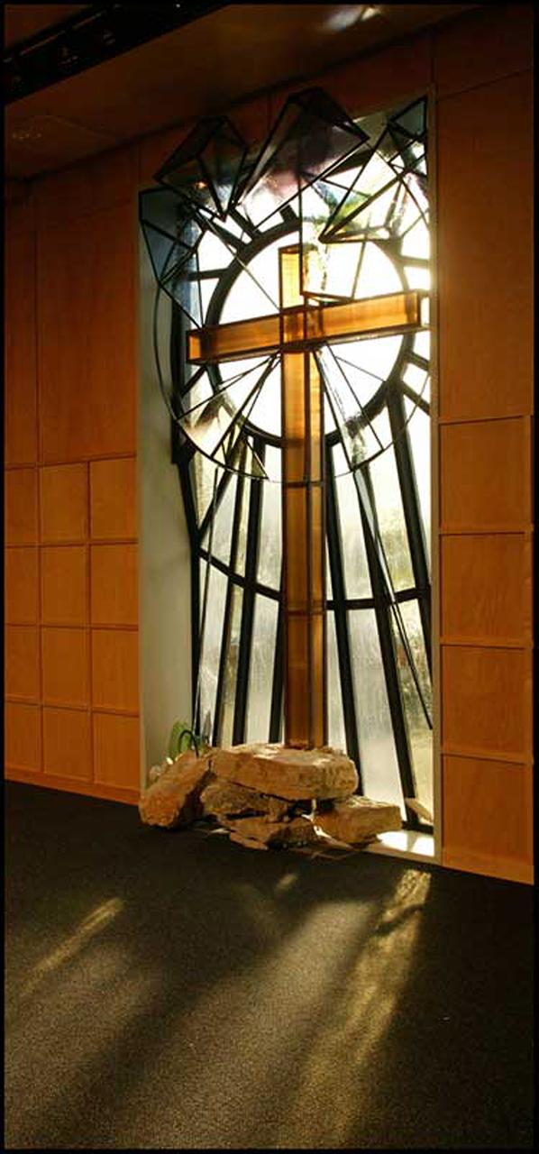 Redemption Window Interior View