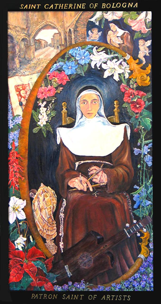 St. Catherine of Bologna: Patron Saint of Artists, 2004