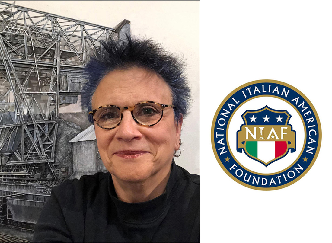 """The work I do is not done alone. My blood is peopled with the dreams, hopes, failures, joys and achievements of those who came before me."" My art is formed and informed by my Italian Heritage.""  Per tutta la mia famiglia e reletivi - con amore."