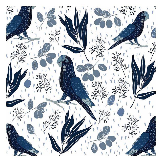 Parrot print! ⠀⠀⠀⠀⠀⠀⠀⠀⠀ #graphicdesign #printdesigner #littleroaddesigns #littleroadstudio #fwportfolio #calledtocreate #creativeprocess #botanicalillustration #artistmom