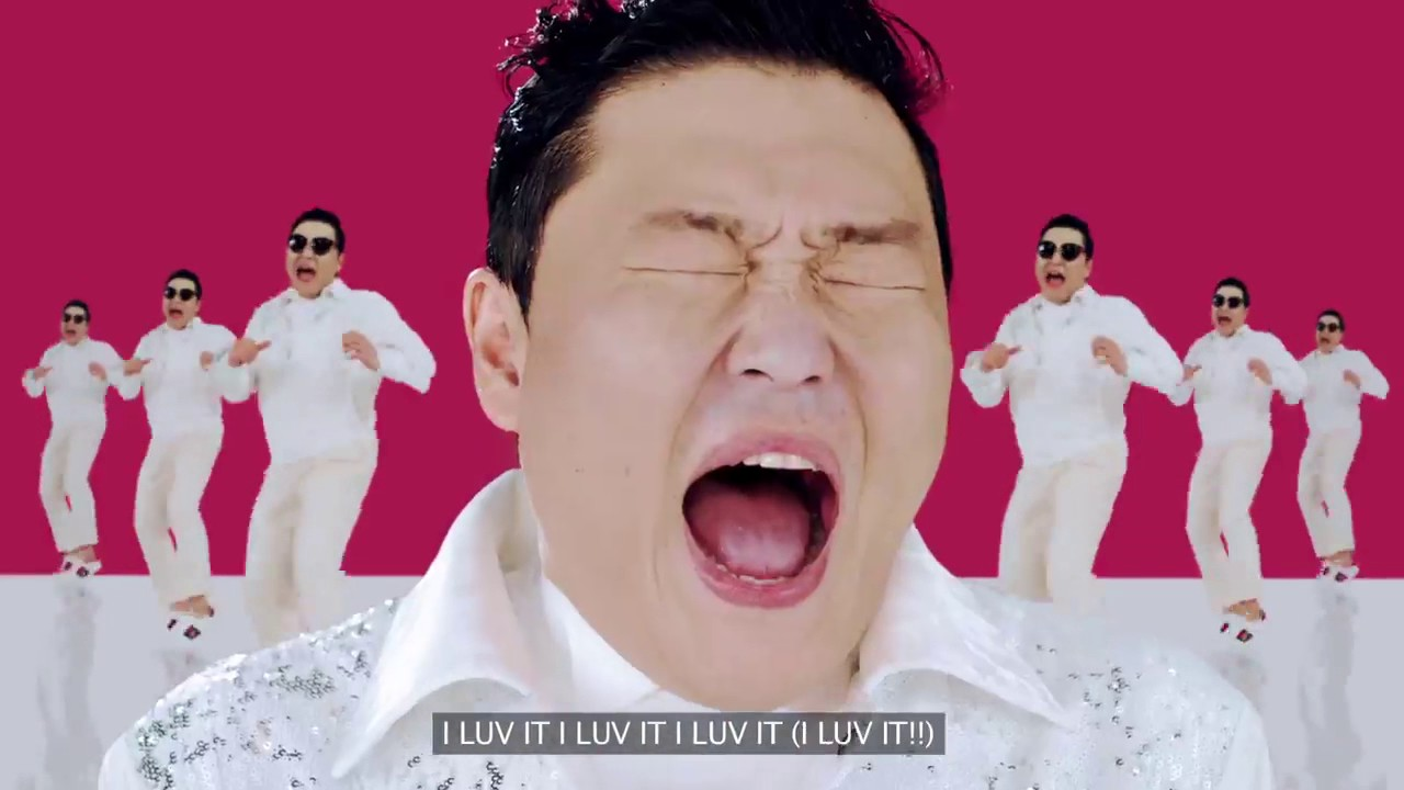 PSY reaches the first place in our weekly ranking