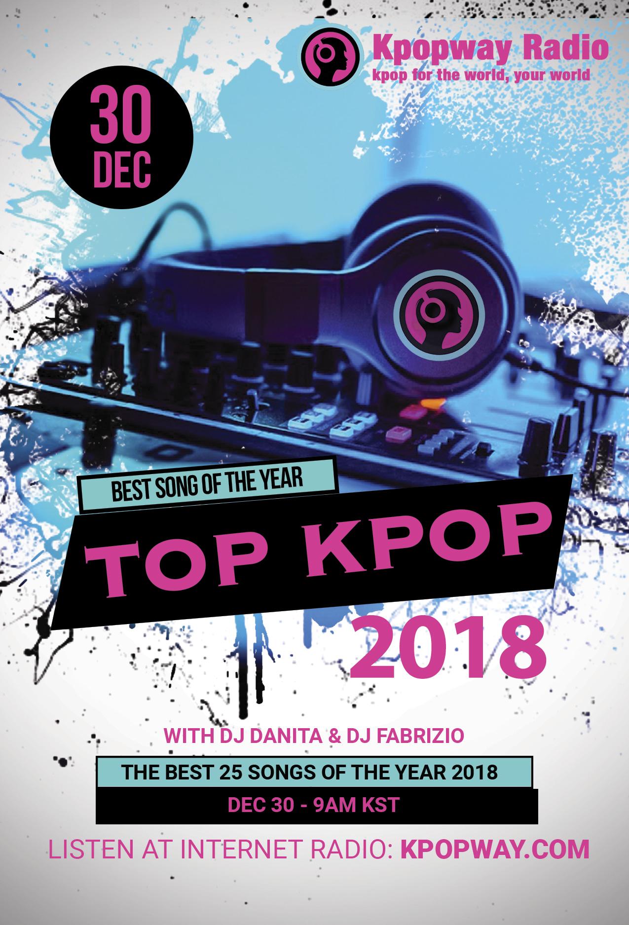 Top Kpop 2018 at Kpopway Radio