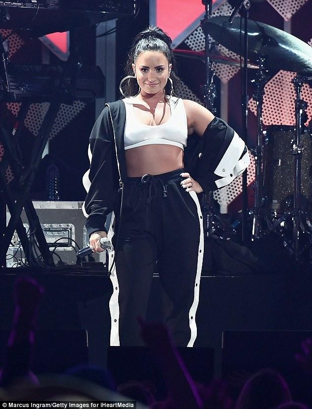 Demi Lovato in FW17 Marna Ro