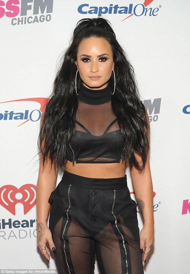 Demi Lovato in custom Marna Ro