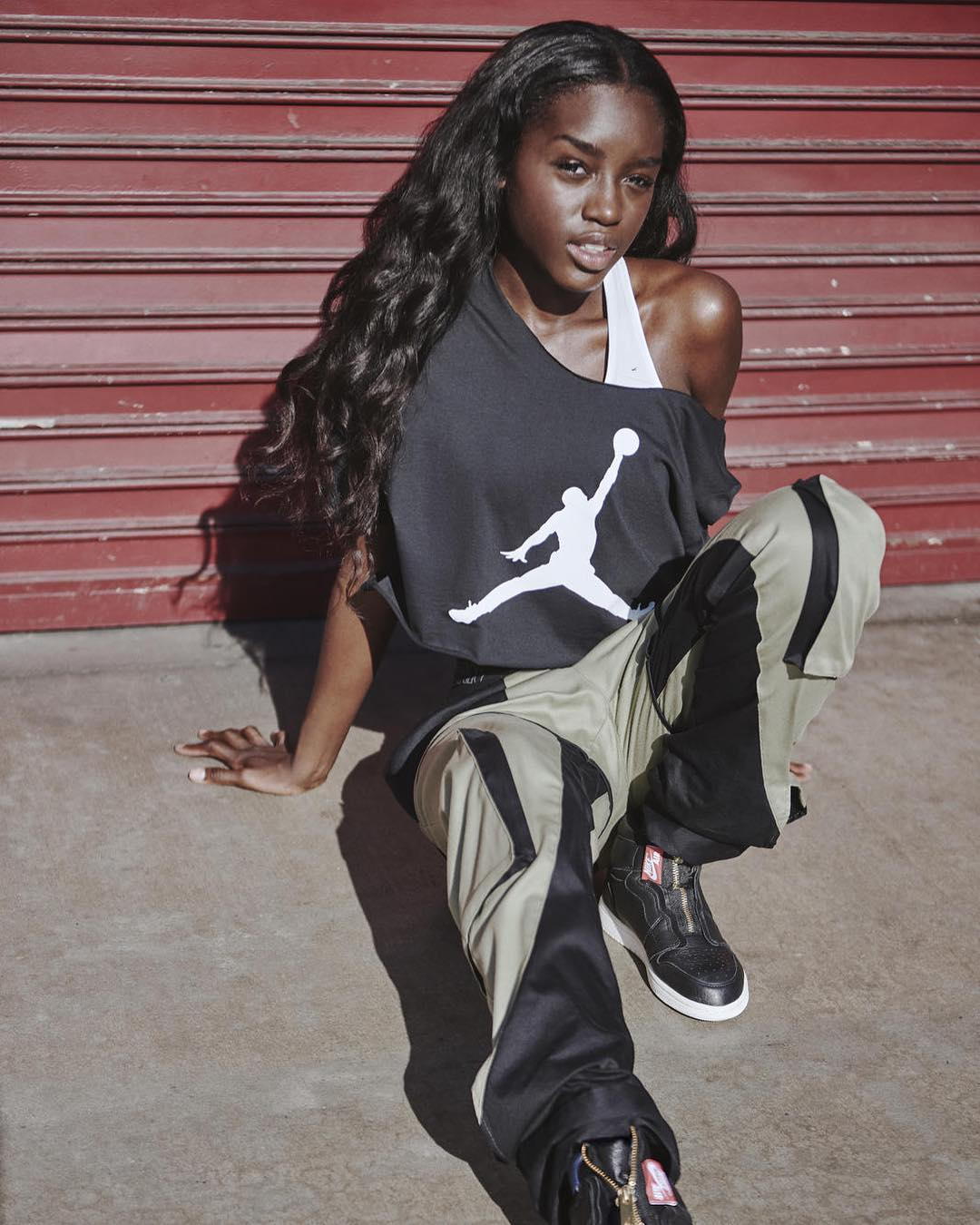 Nike Campaign with Marna Ro pants
