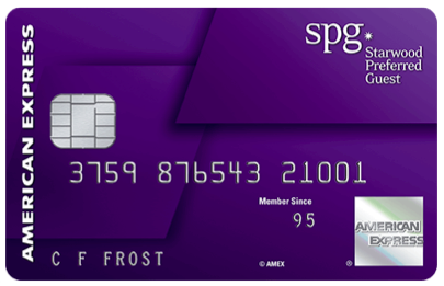 SPG Credit Card