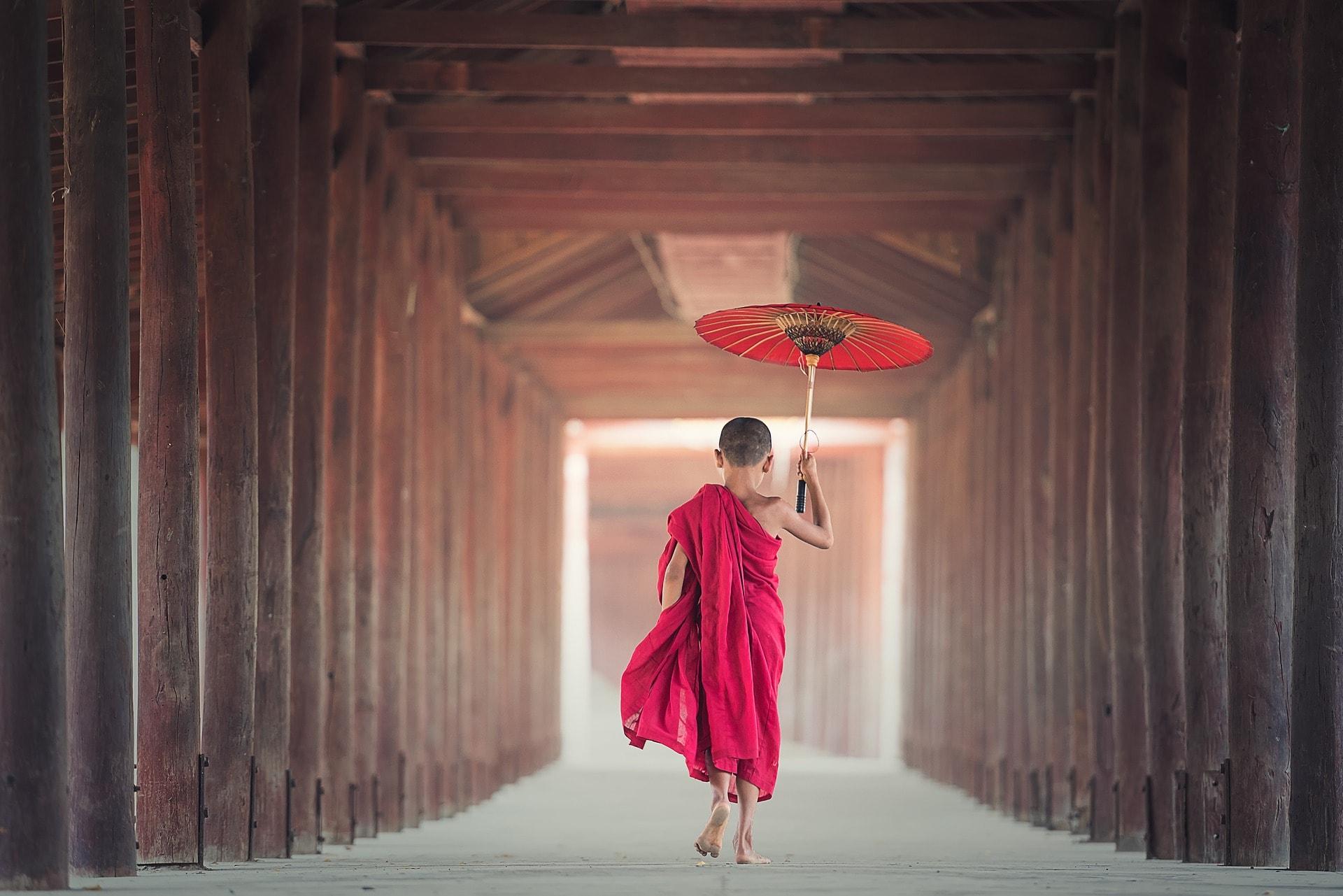 Novice Child Monk
