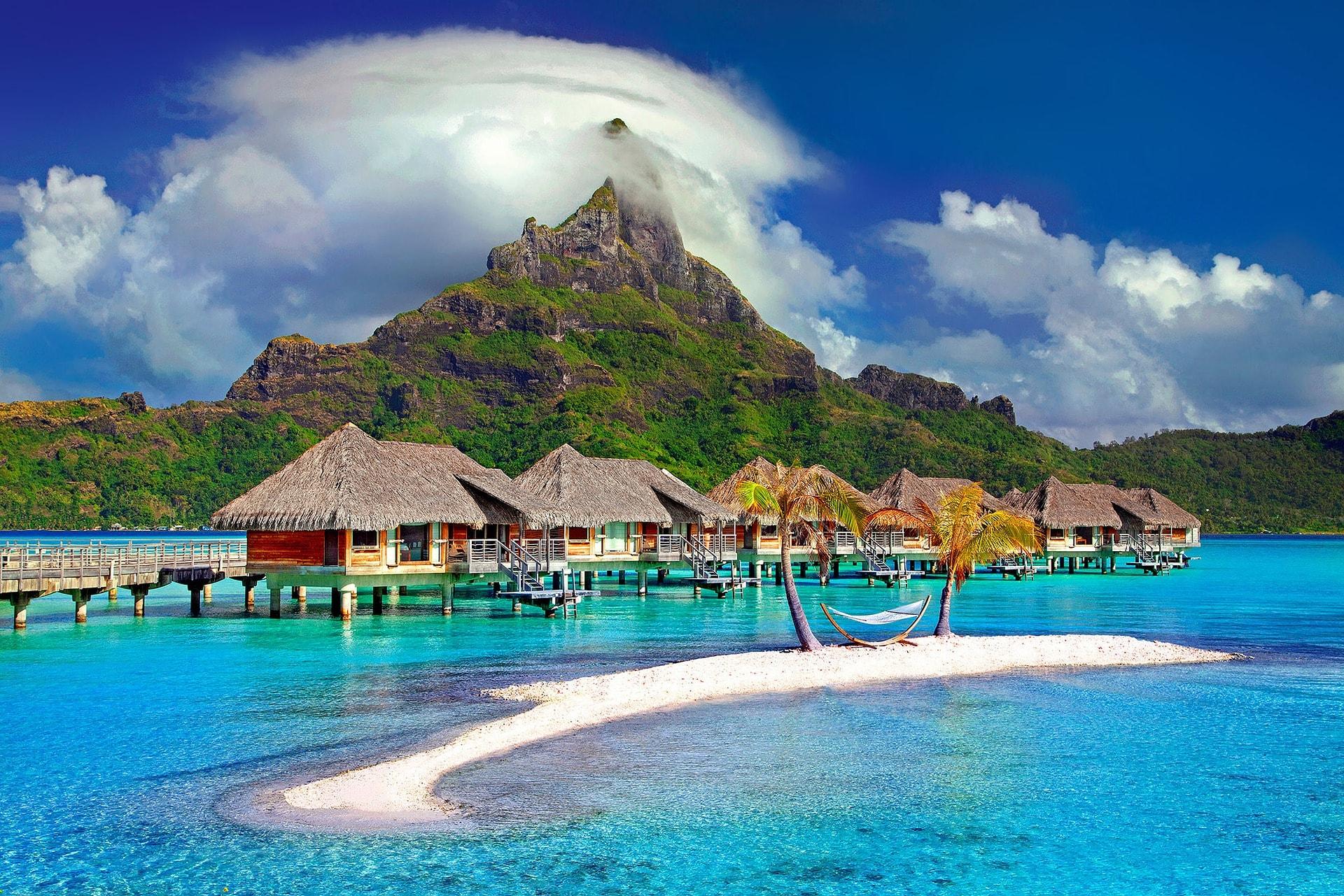 Paradise by Mount Otemanu