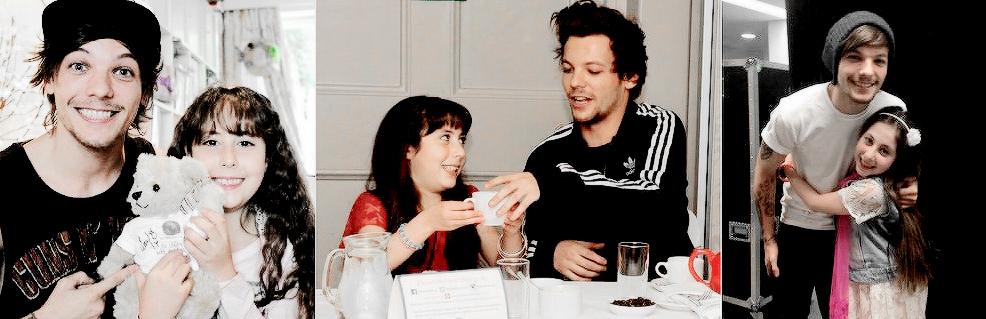 Louis Tomlinson with Eden Goldman.