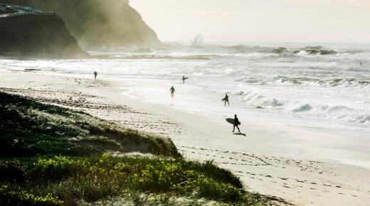 Bar Beach, a short walk or drive from Pappa Sven. Photo: Brigid Arnott
