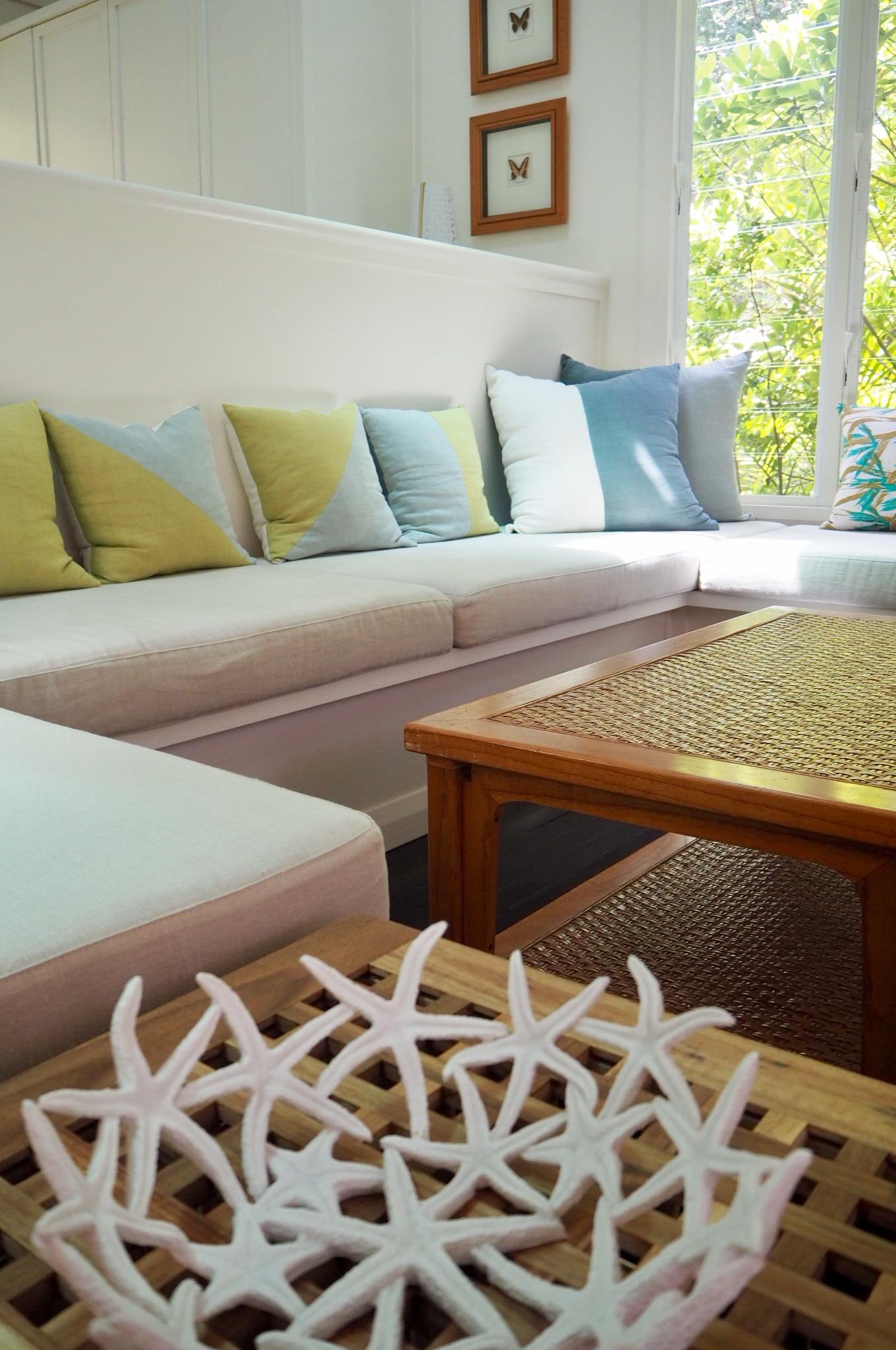 Blue Peter's beachy interiors. Pic: Sheriden Rhodes