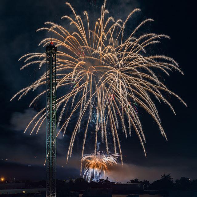 🇺🇸🎇🇺🇸🎆🇺🇸 #fireworks #happy4thofjuly #landscape #photography