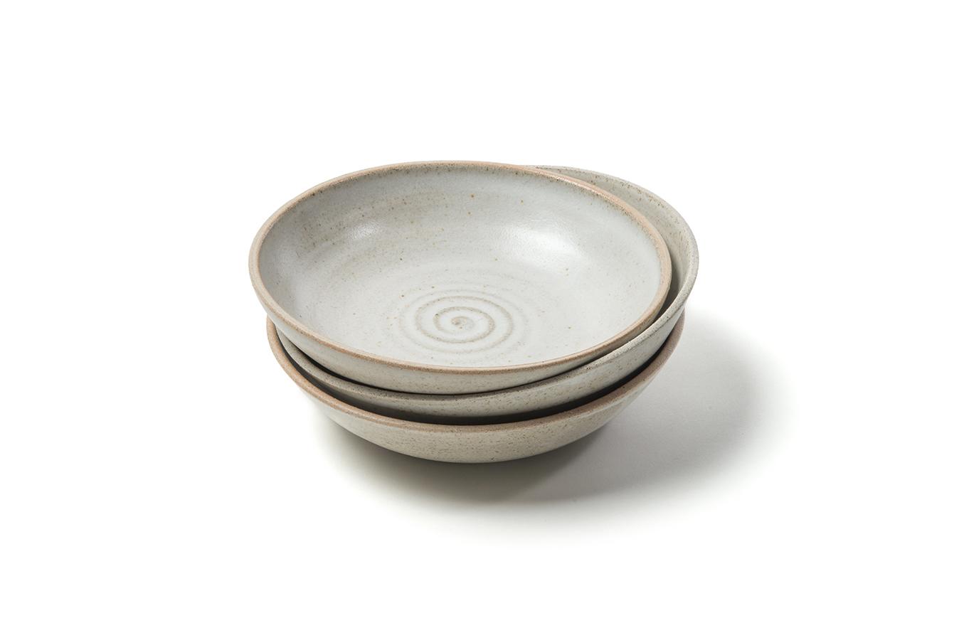 """standard"" stoneware coupe bowls: 2017"