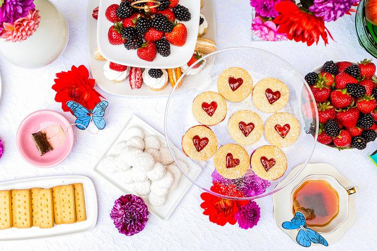 Jam Cookie Tarts -