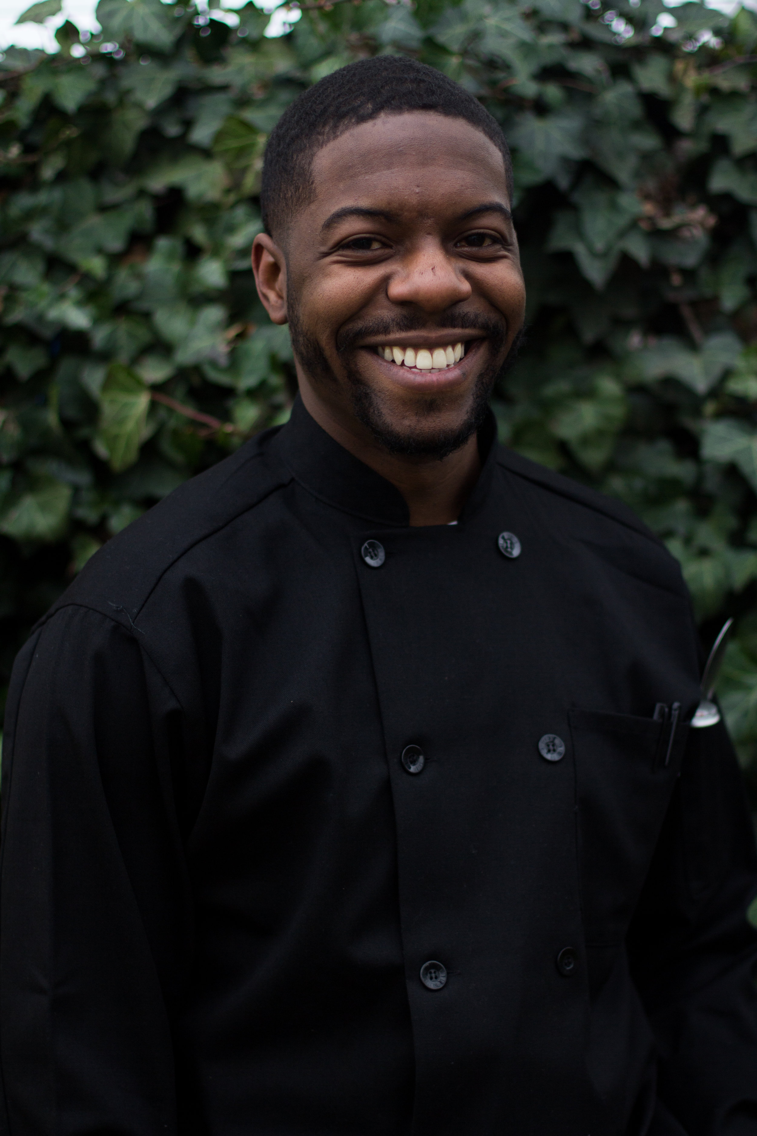 About JB - A budding culinarian with a passion for people and food, Jabari Butler focuses on creating unique memorable food experiences.