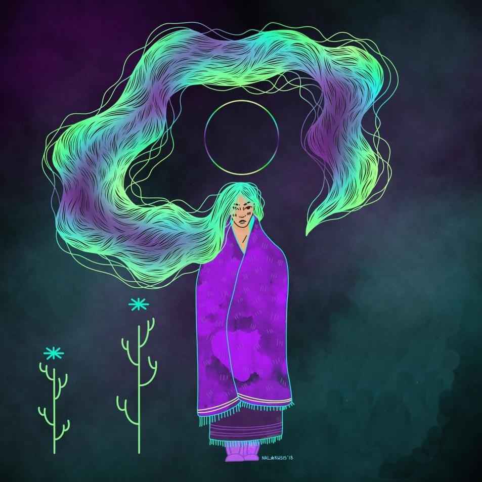 Illustration par Saige Mukash (Nalakwsis)