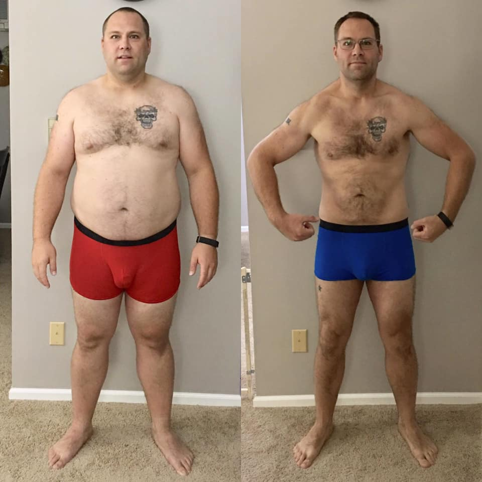 mike weight loss 96 lbs