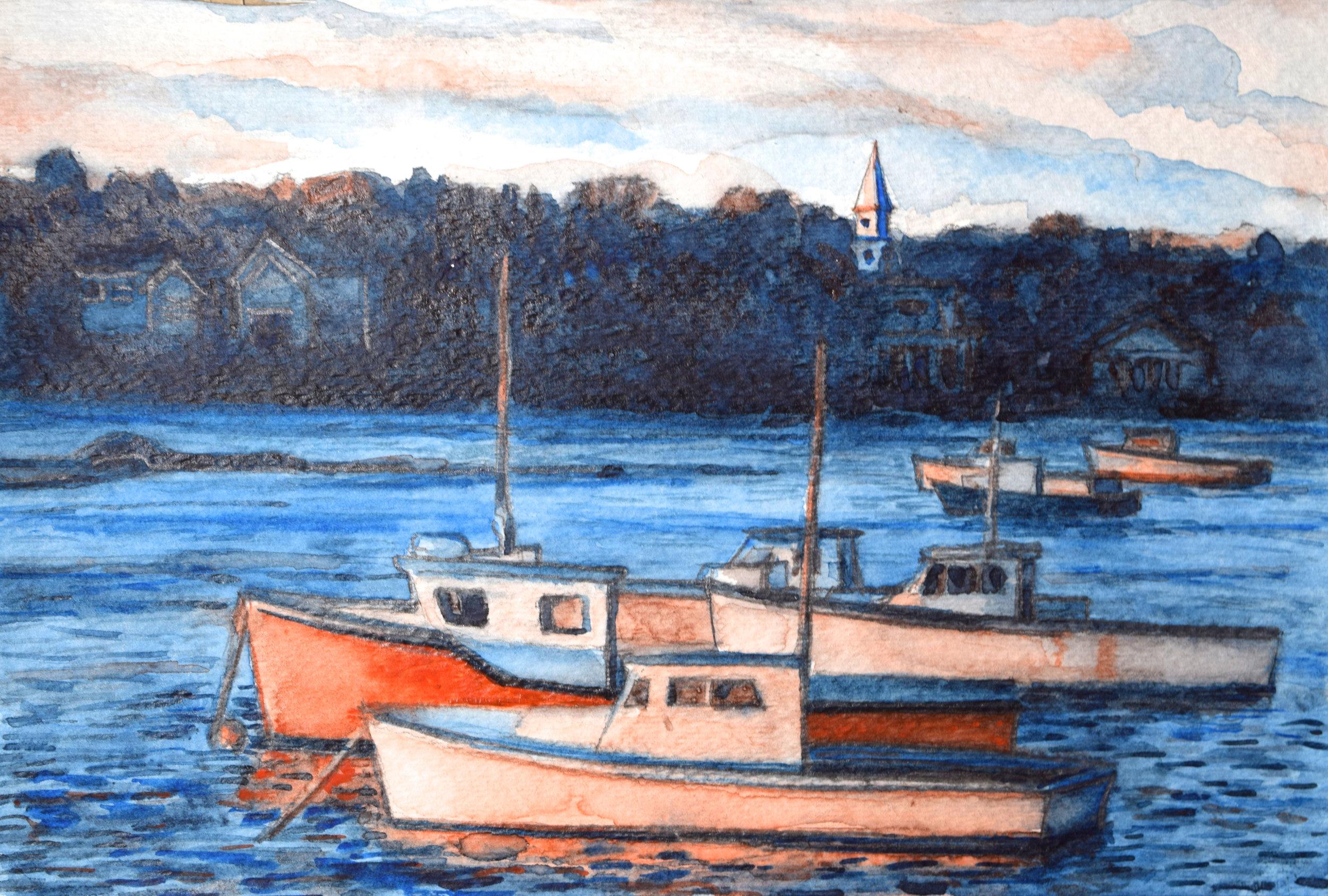 Fishing Boats, New Engand