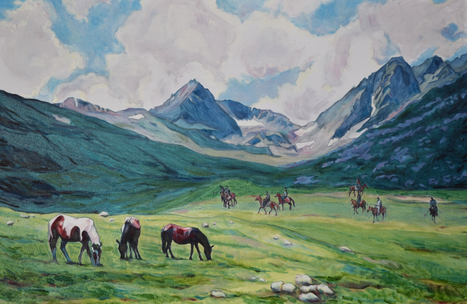 Polo in the Mountains